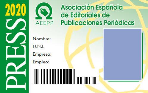 Carnés internacional de Prensa AEEPP