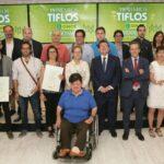 Ganadores de la pasada edición de los Premios Tiflos.
