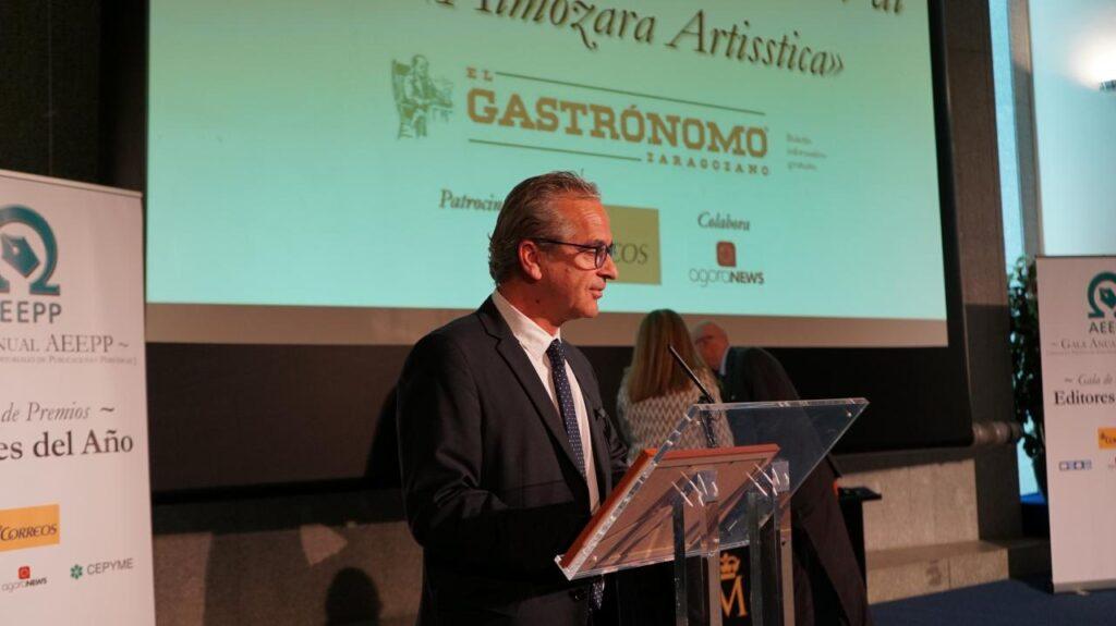 Editor de publicaciones gratuitas: M.Ángel Vicente Val (El Gastrónomo Zaragozano)