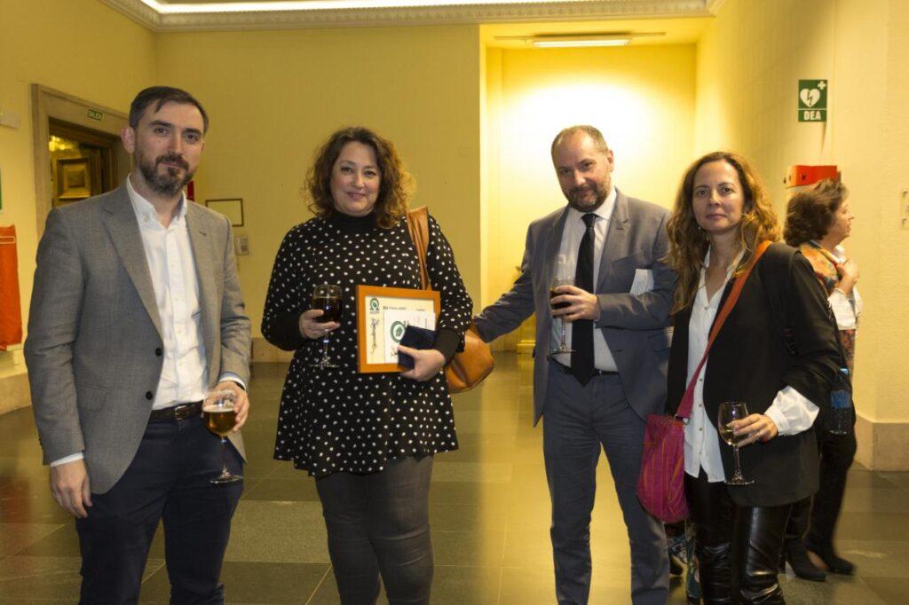 Ignacio Escolar (ElDiario.es) y Virginia Pérez (Público)