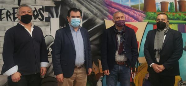 Arsenio Escolar y Juan Zafra se han reunido con Pepe Álvarez, secretario general de UGT para abordar la situación del sector.