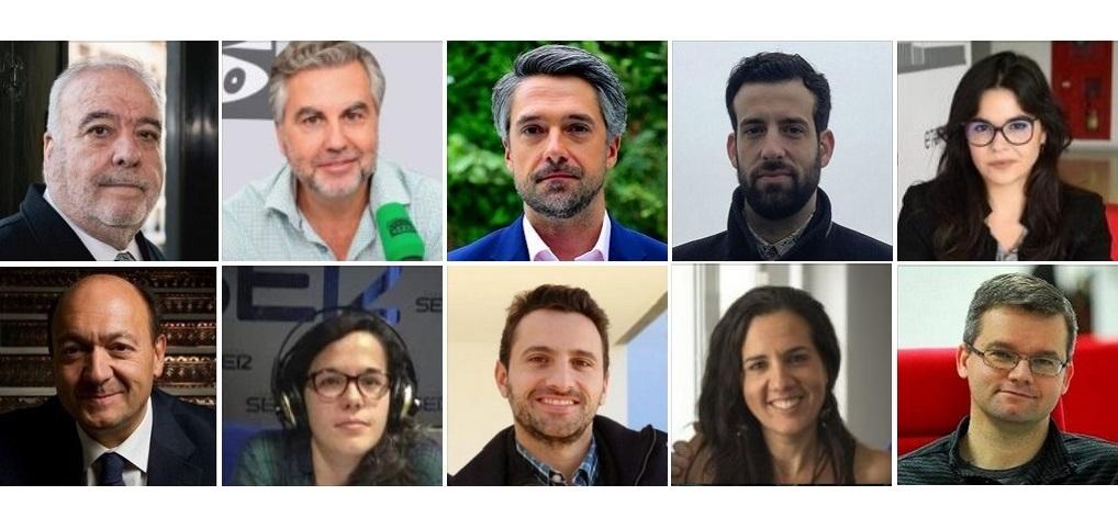 Periodistas galardonados en los Premios APM